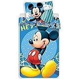 Disney Mickey Parure de Lit - Housse de Couette Coton