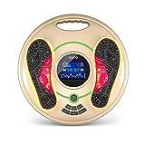 Masseur de pieds électronique EMS - Le corps entier médical améliore la circulation - Soulage la douleur et détend les muscles… (gold)