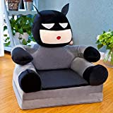 Cartoon Kid Sofa, Fauteuil for enfants Enfants Tabouret Cartoon animaux Modeling Cd Canapé Fold Portable Toy Sofa Cd Fauteuil en peluche Creative Cartoon Canapé Lavable Cd Chaise bébé seat d'anniversa