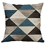 Taie d'oreiller carrée - Motif géométrique irrégulier spécial - Housse de Coussin Chic et Doux décoration 45x45cm - Malloom