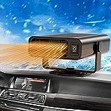 Chauffage de Voiture 12V 150W Parkarma Ventilateur de Voiture Chauffant 2 en 1 Chauffage et Refroidissement Chauffage de Voiture Portatif Hiver Dégivrage Ventilateur de Refroidissement de Chauffage