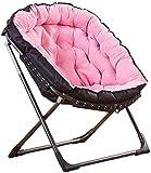 Chaises longues Chaises longues chaises longues chaises de lune chaises rembourrées Camping Chaises de loisirs en plein air Tabourets de loisirs pliables Portable Portable Chaise de pêche d'été avec c