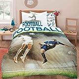 Nimsay Home Parure de lit avec housse de couette motif dessin animé pour lit simple, Mélange de coton, multicolore, Simple