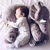 Nouveau-né bébé oreiller éléphant apaiser oreiller infantile enfants bébé literie doux bébé oreiller coussin oreillers en peluche cadeau pour bébé fille