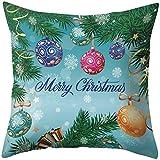 Coussins de Noël Couvre Housse de canapé de Noël, Taies d'oreiller décoratives, Taie d'oreiller de Noël, Décorations de Noël Housses de Coussin, Housses de Coussin Joyeux Noël