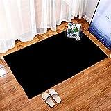 DHHY Tapis en Peluche Tapis en Peluche Rectangulaire Maison Salon Décoration Chambre Baie Vitrée Porte Tapis 50X80cm