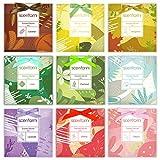 SCENTORINI Sachets Parfumés pour Tiroirs, Armoires, et Garde-Robes, Divers Parfums, 30 g x 9 sachets