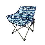 Chaise de plage pliante en plein air portable ultra-léger lune espace chaise aviation tube en aluminium pêche paresseux (63 * 50 * 65 cm)