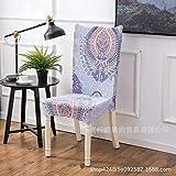 Jasken yyqx container Home Chair Set Hotel Hotel Home Chair Set Restaurant Set Siamese Elastic Chair Mat 2 Sets, Dreamland Universal