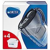 BRITA Carafe filtrante Marella graphite - 4 filtres MAXTRA+ inclus