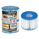 INTEX Lot de 2 Cartouches pour PureSpa Blanc 7x7x11 cm