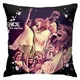 HCKZ Florence + La Machine Canapé Chaise Siège Jeter Taie d'oreiller Housse de Coussin Maison 18X18 Pouces