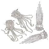 Shipenophy Accessoires de Bottes pour Femmes, Pinces à Chaussures de Mariage Pinces à Chaussures de mariée lavables Anti-Rides pour Boucles d'oreilles