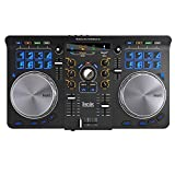 Hercules Universal DJ | Contrôleur DJ à 2 platines, Bluetooth, 16 pads, entrée / sortie audio, logiciel DJ complet DJUCED inclus, PC / Mac / iOS / Android