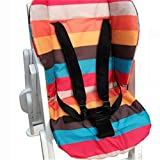 Linkings 5 points Harnais de sécurité Siège bébé Ceinture Strap Pour Poussette Chaise haute Pram Buggy