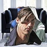 N \ A Milo Ventimiglia Couverture polaire en flanelle ultra douce et chaude pour enfants/adultes/parents/grands-parents 127,7 x 101,6 cm