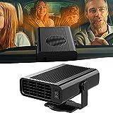 Chauffage de Voiture 12V 150W Parkarma Ventilateur de Voiture Chauffant 2 en 1 Auto Chauffage de Voiture Portable Ventilateur de Refroidissement de Chauffage Hiver Dégivrage