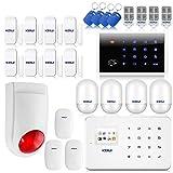 KERUI G18 Alarme Maison sans Fil GSM Détecteur Mouvement Vibration Capteur Mouvement Ouverture Porte Fenêtre Système Sécurité