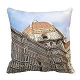 yting Florence Italie du Holiday Photo Taie d'oreiller pour Chaise Longue, Divan, extérieur, Chaise Longue, pub, Famille 18'* 18' / 45 cm * 45 cm