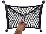 FixSac - Filet de Rangement pour les Véhicules Utilitaires, Camping cars, Mobil homes, Caravanes, Bateaux … 45 x 40 cm