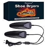 Sèche-Chaussures, Séchoir À Chaussures, Shoe Dryer Sèche, Chaussures télescopique Portable Sèche Botte Ajustable Chauffe-Chaussures désodorisation Accueil Dual Core Chaussures Warmers