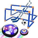 GPTOYS Air Power Soccer, Jouets pour Enfants de Football de l'air, Jouets de Plein air intérieurs, Enfants de Jeu