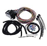 RONGSHU Nouveau-14 Kit de Harnais de câblage Universel Circuit Ajuste for la Voiture de Muscle Câblage à Chaud Câblage de ruisseau Rat Rat Rat Fit for Ford Chevy