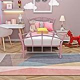 Anaelle Pandamoto Lit Simple Adult Adorable en Méal 1 Place Design Comfort 95 x 110 x 198cm Rose