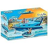 Playmobil - 70630 - FunPark Yacht avec Jet Ski