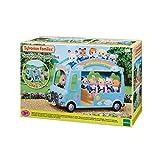 Sylvanian Families - Le Village - Le Bus Arc-en-Ciel des Bébés - 5317 - Crèche des Bébés - Mini Poupées