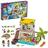 LEGO Friends 41428 La Maison sur la Plage avec Mini Poupées et 2 Animaux, Jeu de Construction pour Enfant de 6 Ans et