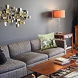 1 taie d'oreiller décorative45 x 45CM,Décor de Bois, Cerfs et Faune dans Le Parc du Patrimoine Naturel Mondial des Zones forestiTaie d'oreiller Decoratif Douce pour Maison Salon Chambre Lit Bureau