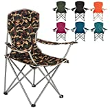 Highlander Moray Camp Chair - Camo