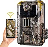 SuntekCam Wi-Fi900PRO - App Live Vidéo - Caméra de chasse - Image de 30 MP/4 K/256 Go - Carte SD étanche IP 66 - Lecture en temps réel dans l'application du téléphone - Support Android iOS WiFi900PRO