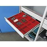 Godet pour petites pièces - pour l x p tiroirs 650 x 540 mm - hauteur tiroirs 90/120 mm - accessoires armoire armoire pour charges lourdes armoire à tiroirs armoires armoires pour charges lourdes