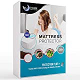 Dreamzie - Protège Matelas 90 x 190/200 cm Imperméable - Alèse Premium Oeko-TEX® Hypoallergénique, Anti-Acarien et Bactérien