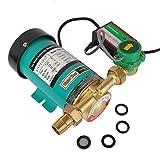 SHYLIYU Pompe de Circulation Pompe à Eau Chaude Pompe Surpresseur Pompe à Eau Domestique Eau Chaude et Froide Automatique Booster Pompe 1500L/H 120W