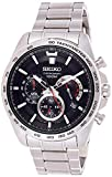 Seiko Hommes Chronographe Quartz Montre avec Bracelet en Acier Inoxydable SSB299P1