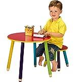 OS-SO Table et tabouret pour enfant, With 1 Stool