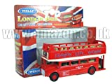 Diecast London Open Bus Top - Pull Back and Go d'action [Jouet]