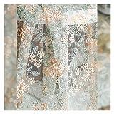19.6in Feuille de fleur Tissu de dentelle soluble dans l'eau, vêtements en treillis dentelle bricolage dentelle, vêtements à la main Hanfu canapé couverture accessoires de tissu adapté à la production