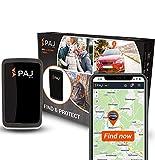 PAJ GPS Allround Finder 2020– Traceur GPS Voiture, Moto, Objets, Personnes âgées et Enfants– Tracker GPS en Temps réel– Marque Allemande– Autonomie de 20 à 60 Jours (Mode Veille)
