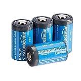 Amazon Basics Piles Lithium CR2 3V, Lot de 4