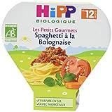 HiPP Biologique Spaghetti à la Bolognaise dès 12 mois - 6 assiettes de 230g