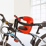Teakpeak Porte-bébé/siège-enfant avant pour vélo VTT, 50 kg, G7D1WEO1629X3AZ0D190ZCJJ, rouge