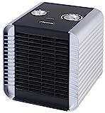 Bestron Radiateur soufflant, Thermostat, Contrôle de la température, 750 W/ 1500 W, Argent