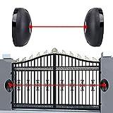 ANLUQIRIYON Détecteur Infrarouge à Faisceau Unique, détecteur d'alarme Infrarouge étanche de barrière de Couloir de fenêtre de Porte