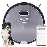 AMIBOT Animal Premium H2O Connect - Robots Aspirateurs et laveurs connecté iOS/Android spécial Poils d'animaux