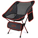 G4Free Chaise de Camping Ultra-Léger Pliable Chaise de Plage avec Sac de Transport pour Randonnée Pique-Nique Pêche Voyage