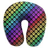 Oreiller en Forme De U,Sydney Gay Lesbian Throw Pillow, Oreiller Confortable en Forme De U Confortable pour Le Repos d'avion De Voiture